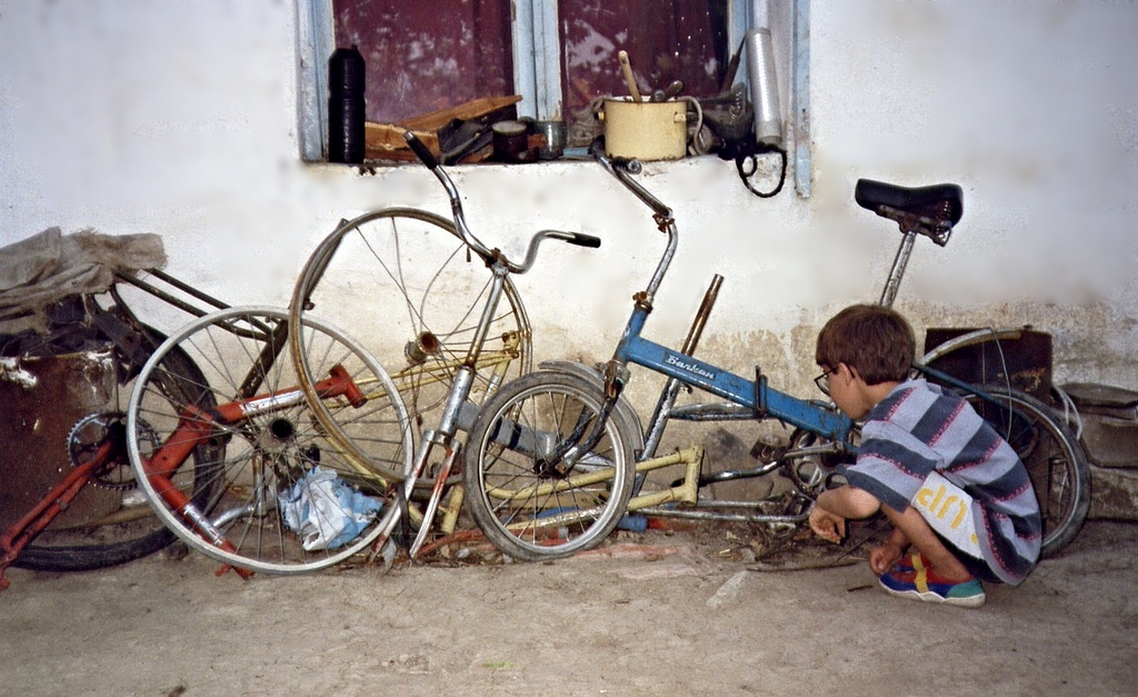 bike amidst junk - innercomm.net